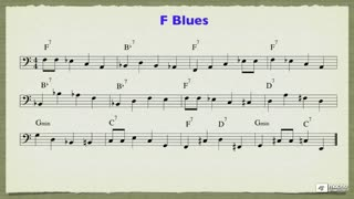 31. Jazz Walking Bass - Part 3
