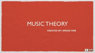 Music Theory 102: Harmony - Preview Video