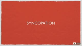 10. Syncopation
