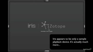 iZotope Iris: Iris Explored - Preview Video