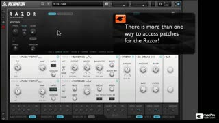 Native Instruments 201: Razor - Preview Video