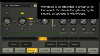 15. Wavetables