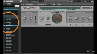 Native Instruments 212: Skanner XT - Preview Video