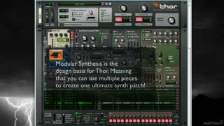 Reason 7 209: Thor: Master Of All Synths - Preview Video