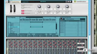 18. Creating Matrix Patterns for Drums in a Combinator