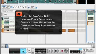 42. Creating a Drum Replacement unit for Live Drums with a Combi