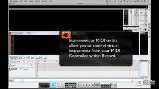 18. Record a MIDI Track