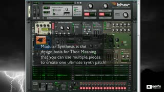 Reason 6 209: Thor: Master Of All Synths - Preview Video