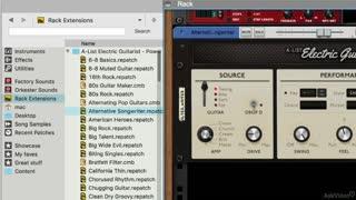 13. A-List Power Chords Electric Guitarist