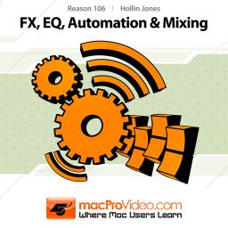Reason 6 106 FX, EQ, Automation and Mixing Product Image