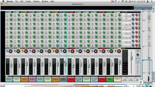 Reason 6 106: FX, EQ, Automation and Mixing - Preview Video
