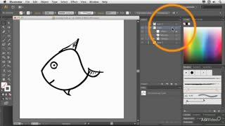 7. Coloring Traced Art Manually