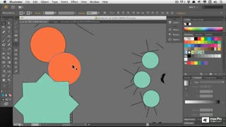 Illustrator CS6 101 : Illustrator Basics - Create A Logo - Preview Video