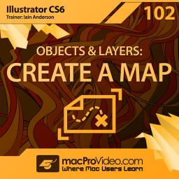 Illustrator CS6 102 Objects and Layers: Create A Map	 Product Image