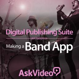 Digital Publishing Suite 101 Making a Band App Product Image