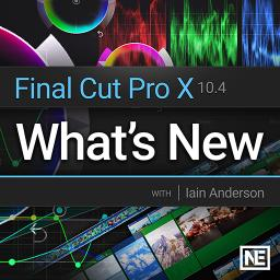 Final Cut Pro X 10.4 - 100Final Cut 10.4 What's New Product Image