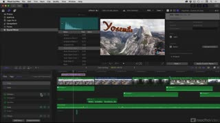 Final Cut Pro X 106: Media, Roles & Sharing - Preview Video