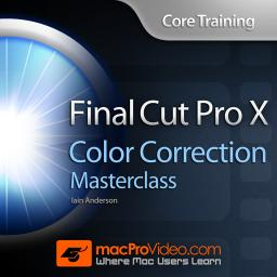 Final Cut Pro X 107 Core Training: Color Correction Masterclass Product Image