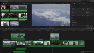 Final Cut Pro X 202: Compositing and Visual FX - Preview Video