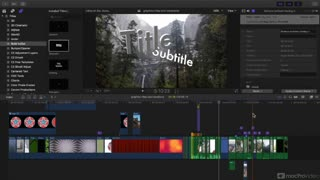Final Cut Pro X 203: Graphics, Titles and Transitions - Preview Video