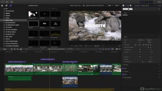 Drawing Lines In Final Cut Pro : Designing titles in final cut pro part