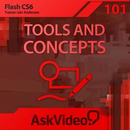 Flash CS6 101 Tools and Concepts Product Image