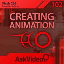 Flash CS6 102 Creating Animation Product Image