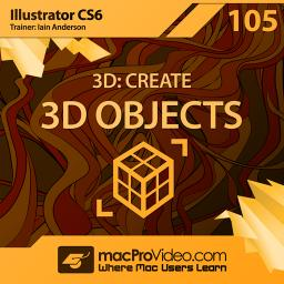 Illustrator CS6 105 3D: Create 3D Objects	 Product Image