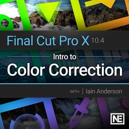 Final Cut Pro X 107 Intro to Color Correction Product Image