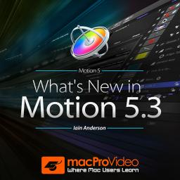 Motion 100 What's New in Motion 5.3 Product Image
