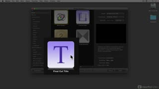 14. Creating 3D Titles for FCP X