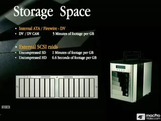 13: Storage Requirements