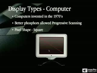 06: TV Displays Vs. Computers