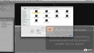 34. Importing Audio