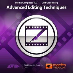 Media Composer 6 103 Advanced Editing Techniques Product Image