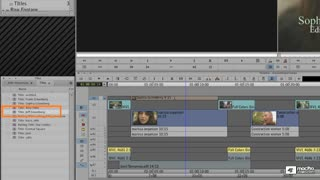 31. Opening a Title for Editing