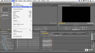 14. From Bridge to Premiere Pro