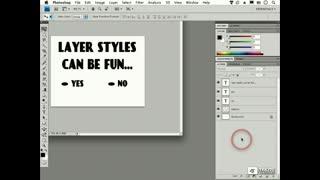 164 Layer Styles Basics