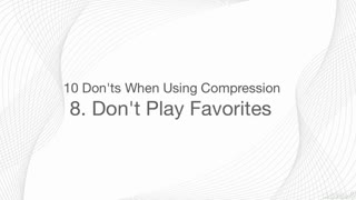 9. Compression Types