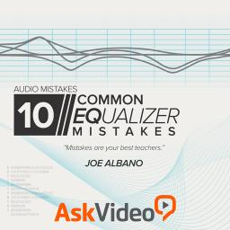 Audio Mistakes 10210 Common EQ Mistakes Product Image
