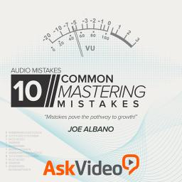 Audio Mistakes 104 10 Common Mastering Mistakes Product Image