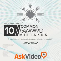 Audio Mistakes 10510 Common Panning Mistakes Product Image