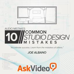 Audio Mistakes 106 10 Common Studio Design Mistakes Product Image