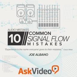 Audio Mistakes 10710 Common Signal Flow Mistakes Product Image