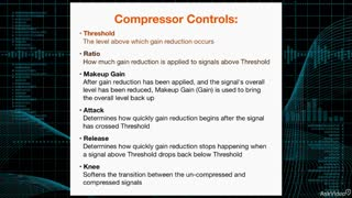 16. Threshold & Ratio Controls