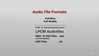 16. Lossless | Lossy Codecs - FLAC, ALAC | MP3, MP4, AAC