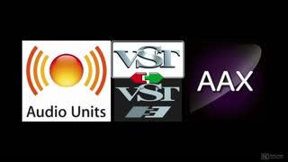 16. AudioUnit | AU | VST | AAX