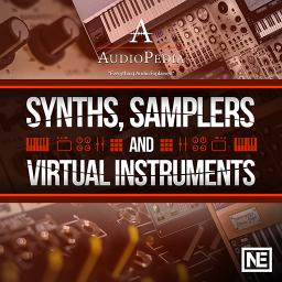 AudioPedia 110 Synths, Samplers and Virtual Instruments Product Image