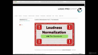 6. New Loudness Measurements