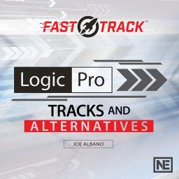 Logic Pro FastTrack 205 Tracks and Alternatives Product Image